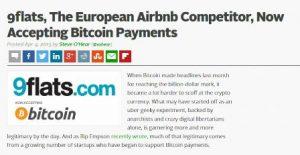 bitcoin 9flats iskustva