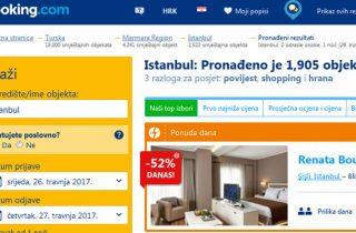 booking.com u turskoj