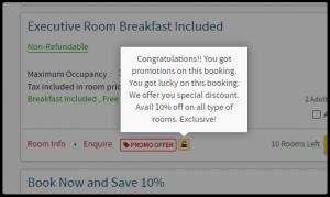 promotivni kod za goste hotela