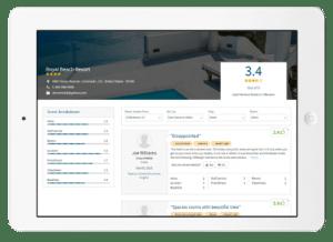 recenzeije na web stranicama za hotele