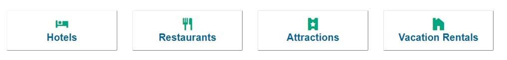 TripAdvisor kategorije
