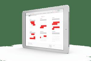 web stranice za hotele s kalendarom