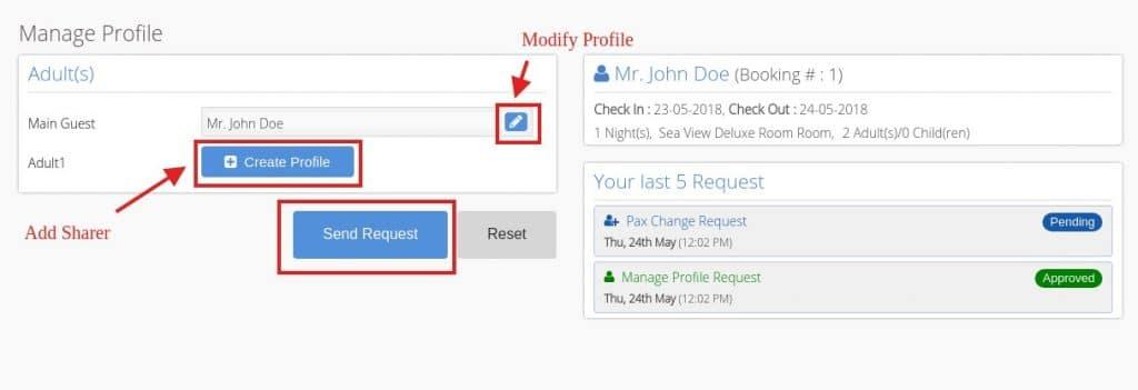 upravljanje profilima