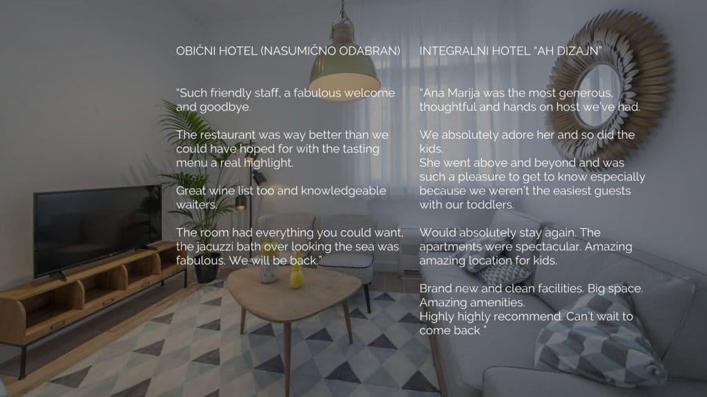 integralno hotel iskustva gostiju