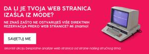 ANALIZA WEB STRANICE