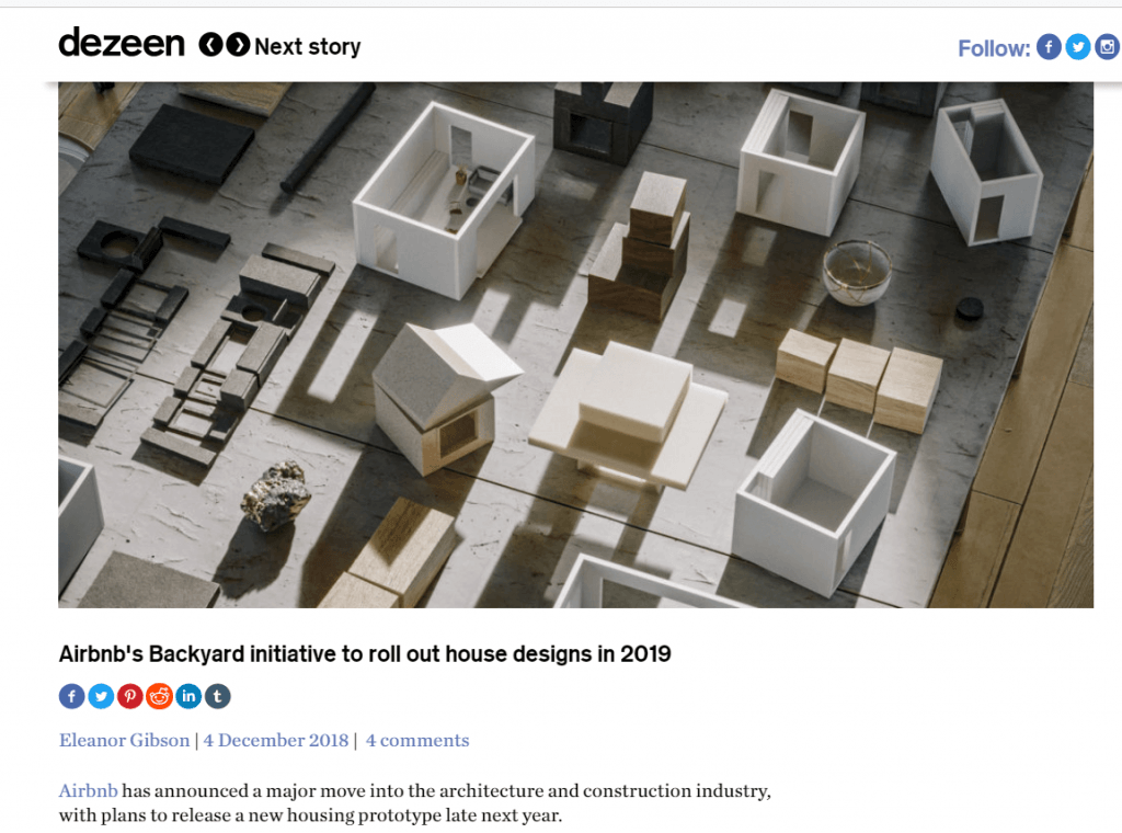 airbnb ide u dizajn apartmana