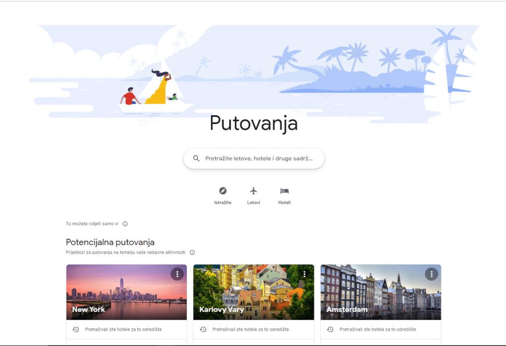 Google Travel je sada korak bliže prema One Stop shoppingu