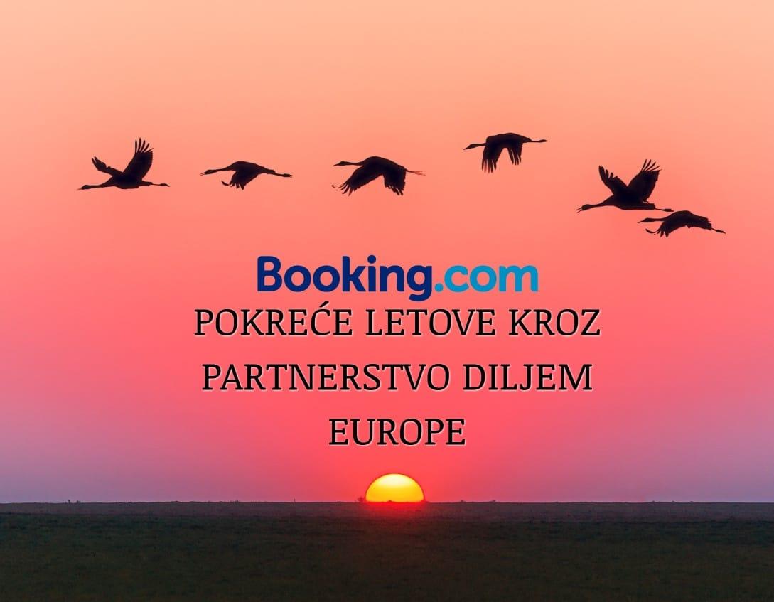 Booking.com pokreće letove kroz partnerstvo diljem Europe
