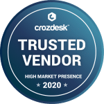 Crozdesk Trusted Vendor Badge