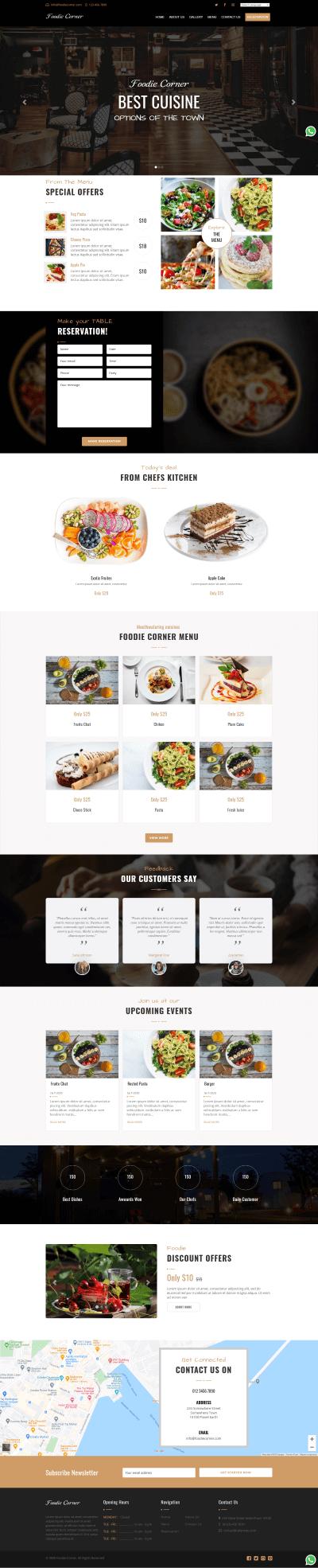 Foodie Corner