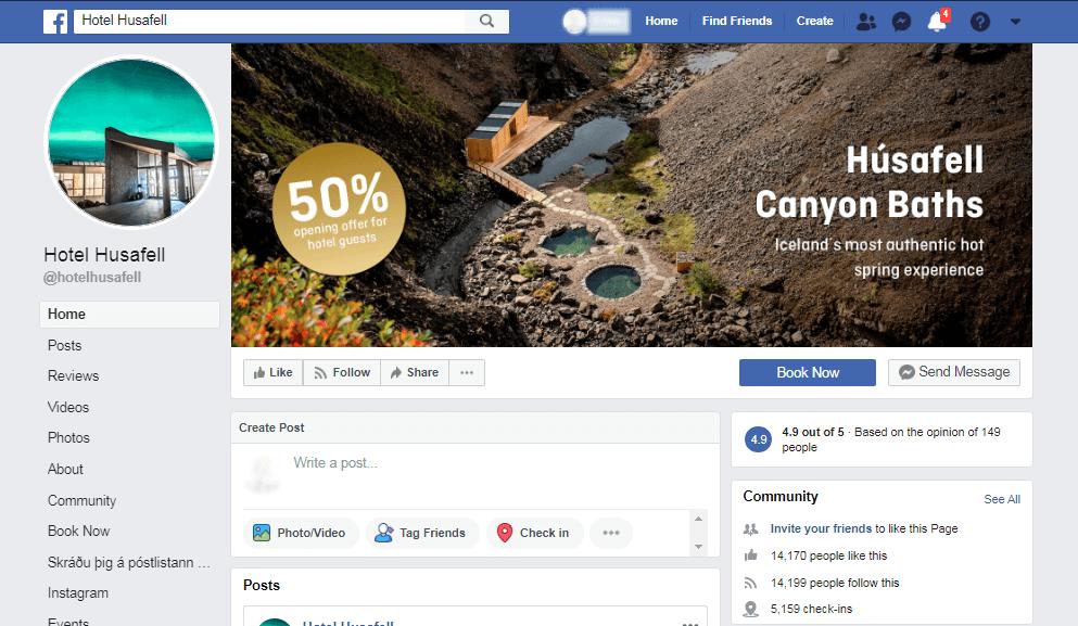 Imati odgovarajuću Facebook stranicu jedan je veliki korak prema pravilnom marketingu hotela na društvenim mrežama