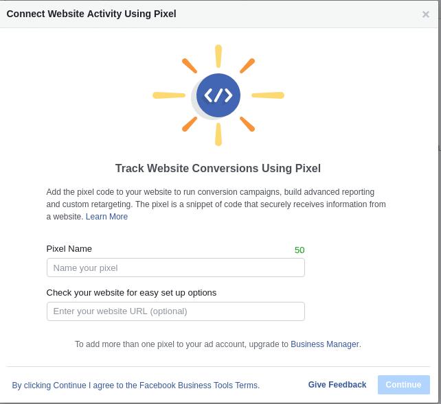 Stvaranje Facebook Pixel koda