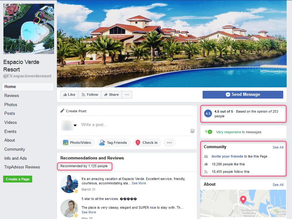 Facebook marketing kao jedna od ideja hotelskog marketinga